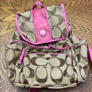 Coach book bag purse